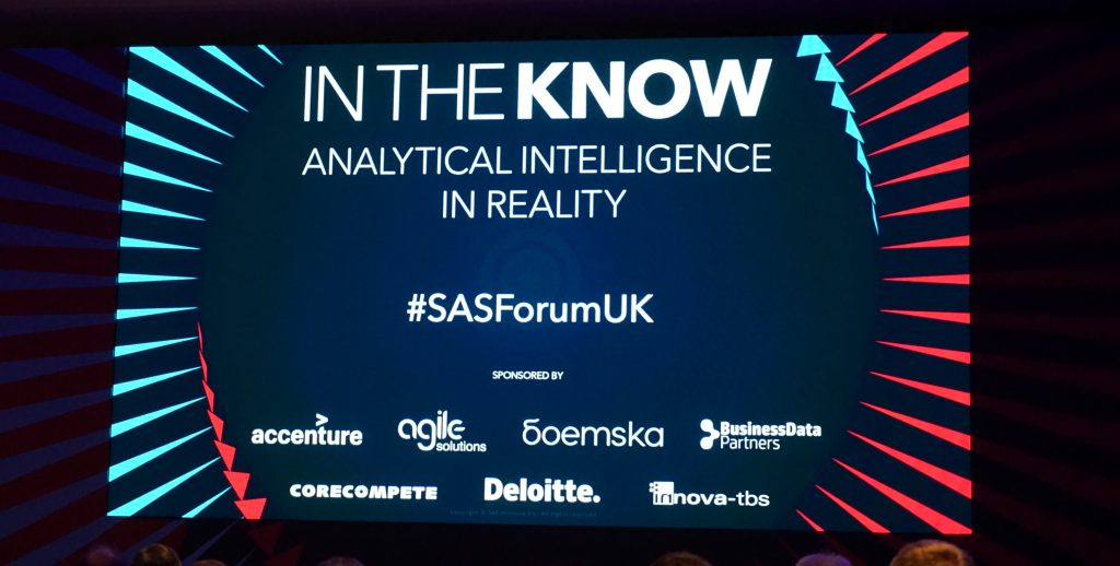 SAS Forum UK 2018 – That's a wrap!